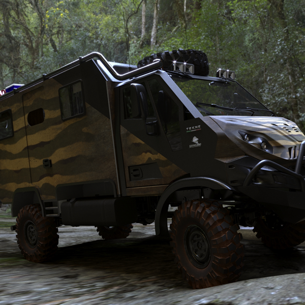 Graelion for offroad adventures