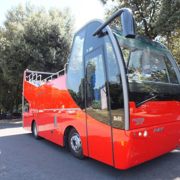 Open Top Bus - Special version with rear place for seats and eventually wheelchairs
