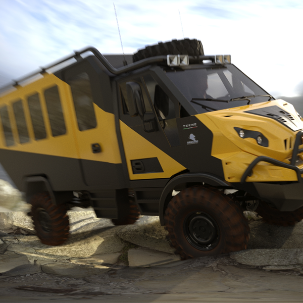 Expedition Van - Offroad Tourism