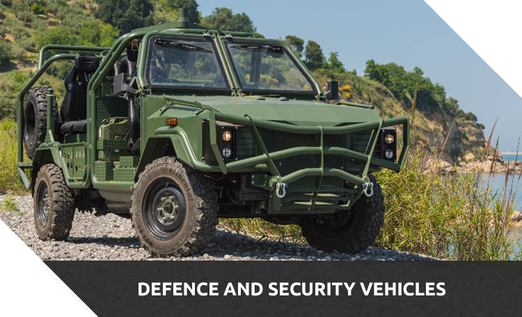 defence and security vehicles