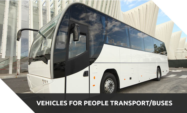 vehicles for people transport buses